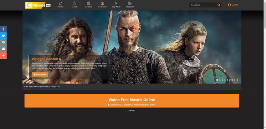 free movie streaming websites-CMovies