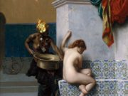 "Жан-Леон Жером (Jean-Leon Gerome) ""Moorish bath"""