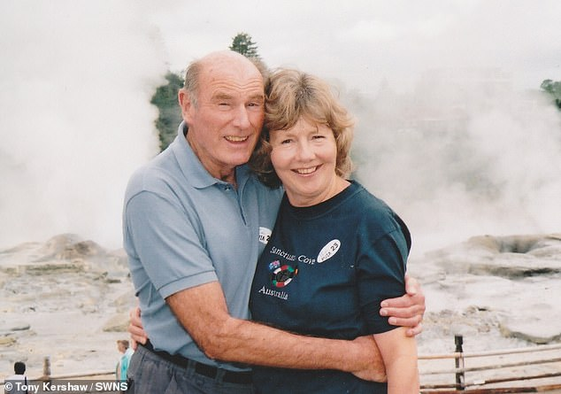 Mr Williams met Jo, a legal secretary, in a bar more than 35 years ago, and their marriage was