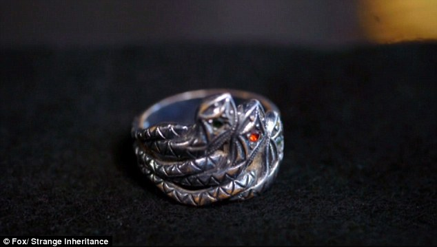 The ring (pictured) was taken in 1933 from Bonnie and Clyde
