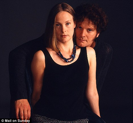 Sibling support: Colin Firth turned to his sister Kate (pictured), who is a professional voice coach, as he mastered the King