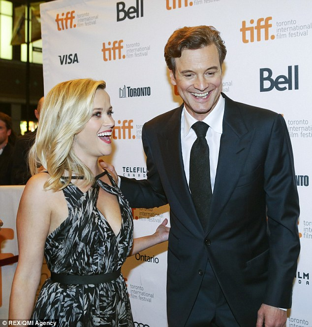 Thinner:  Colin Firth  and Reese Witherspoon swap diet tips at the Devil