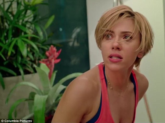 A different route: Scarlett Johansson, 32, attempted to expand her reach by venturing into the world of comedy in the new film, Rough Night
