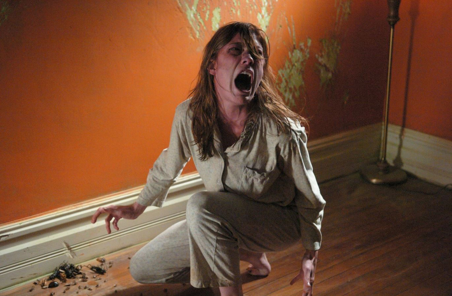 The Exorcism of Emily Rose - Emily possessed on floor