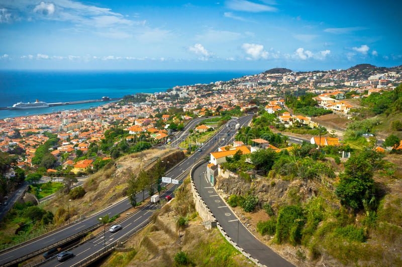 Funchal, Madeira Island, Portugal royalty free stock images