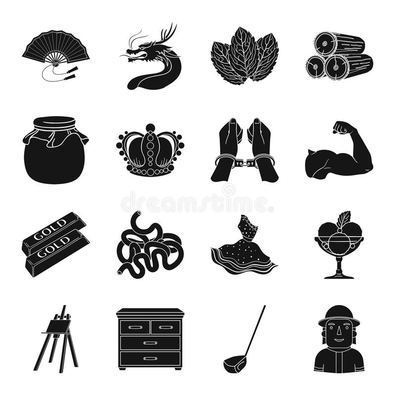 Medicine, travel, justice and other web icon. Medicine, travel, justice and other icon in black style.sport, art, finance icons in set collection vector illustration