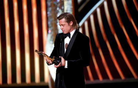 Brad Pitt Wins the Academy Award!